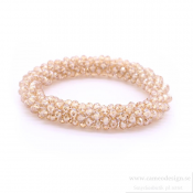 Just d´lux - Crystal Bracelet Beige