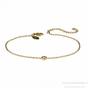 astrid & agnes - LILLY Armband Guld