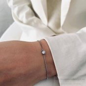 BUD TO ROSE - Ice Bracelet Stål