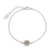 Lily and Rose - Celeste Bracelet Diamond Grey