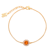 Lily and Rose - Celeste Bracelet Topaz Rose