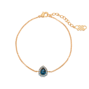 Lily and Rose - Amelie Bracelet - Sapphire Montana