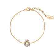 Lily and Rose - Amelie Bracelet - Crystal (Gold)