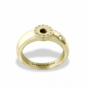 Dyrberg/Kern Compliments - Ring Guld m. Kristall