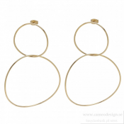 BUD TO ROSE - Salsa Earring Gold