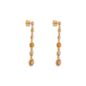 Lily and Rose - Petite Celeste earrings – Golden Shadow