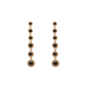 Lily and Rose - Petite Celeste Earrings – Jet