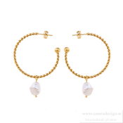 Ingnell Jewellery - Theodora Earrings Gold