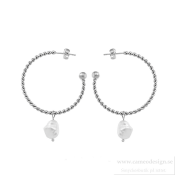 Ingnell Jewellery - Theodora Earrings Steel