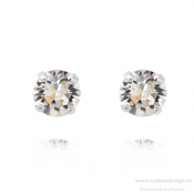 Caroline Svedbom - Classic Stud Earrings / Crystal Rhodiumpläterat