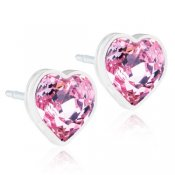 Blomdahl - MP Heart, 6 mm, Light Rose
