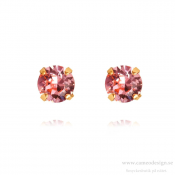 Caroline Svedbom - Classic Stud Earrings / Light Rose Guldplätering