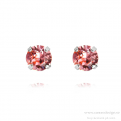 Caroline Svedbom - Classic Stud Earrings / Light Rose Rhodiumplätering