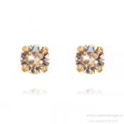 Caroline Svedbom - Classic Stud Earrings / Silk Guldplätering