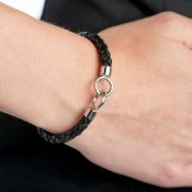 Gynning Jewelry - Armband The Knot On Leather