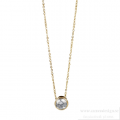 astrid & agnes - Lilly Necklace Gold 7 mm