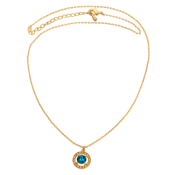 Lily and Rose - Miss Miranda Necklace – Golden Blue