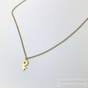 EDBLAD - Mini Me Necklace Gold