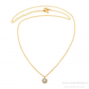 Lily and Rose - Petite Miss Sofia Necklace Crystal (Gold)