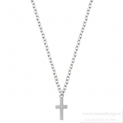 EDBLAD - Cross Necklace Steel