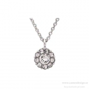 Lily and Rose - Petite Miss Sofia Necklace Crystal (Silver)