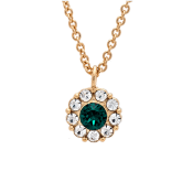 Lily and Rose - Petite Miss Sofia Necklace Emerald (Gold)