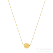 EDBLAD - Bubbles Mini Necklace Matt Gold