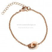 INGNELL JEWELLERY - SMILLA BRACELET ROSE GOLD