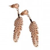 INGNELL JEWELLERY - AGNES EARRINGS ROSE GOLD