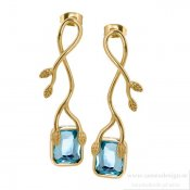 INGNELL JEWELLERY - Novalie Earrings Gold