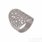 BUD TO ROSE - Lea Ring Steel