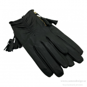 Just d´lux - Gloves Leather W. Zipper
