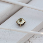 Altavario - Rose Prong Stone 8 mm Bronze