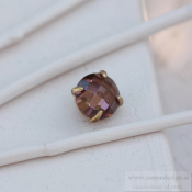 Altavario - Rose Prong Stone 10 mm Bronze