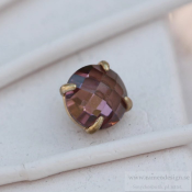 Altavario - Rose Prong Stone 14 mm Bronze