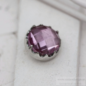 Altavario - Blush Bezel Prong 12 mm Silver