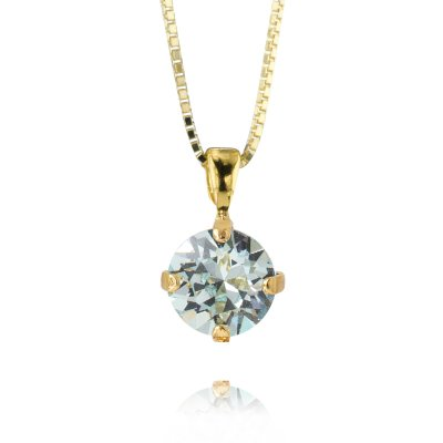 Caroline Svedbom - Petite Stud Necklace / Light Azure