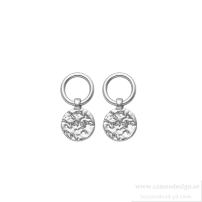 Dansk - Amber Simple Earring Silverpläterade