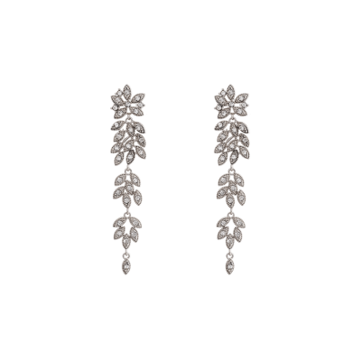 Lily and Rose - Petite Laurel Earrings – Crystal