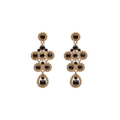 Lily and Rose - Petite Kate Earrings – Jet