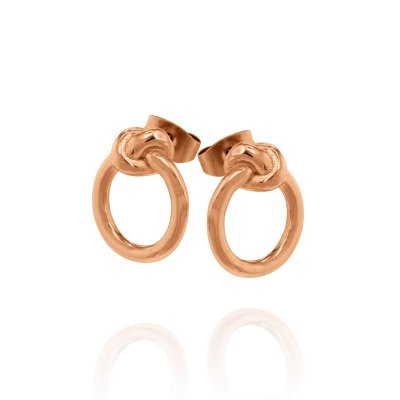 INGNELL JEWELLERY - Never Give Up Earring Rose Gold