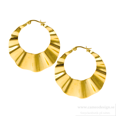 Ingnell Jewellery - Ellen Creol Large Gold