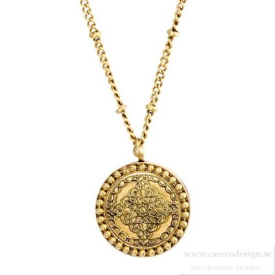 Ingnell Jewellery - Steffie Coin Necklace Gold