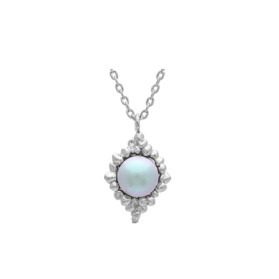 Lily and Rose - Miss Bonnie Pearl Necklace – Dove Grey