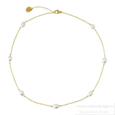 EDBLAD - Perla Necklace Multi Gold