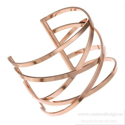 INGNELL JEWELLERY - MIRIAM BANGLE ROSE GOLD