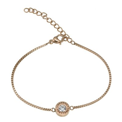 INGNELL JEWELLERY - Ellie Bracelet Thin Rose Gold