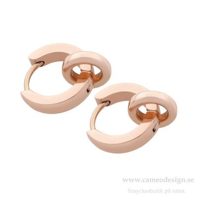 INGNELL JEWELLERY - FRIDA Donut Rose Gold