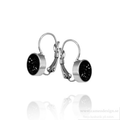 INGNELL JEWELLERY - Iza Earrings Steel Black