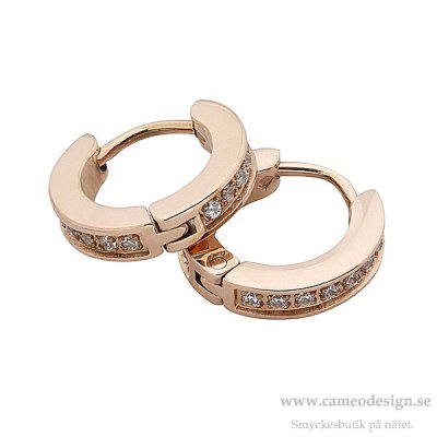 INGNELL JEWELLERY - ELVIRA Earrings Rosé Single